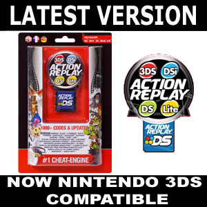 action replay cheats for nintendo dsi ds lite xl 3ds ebay. Black Bedroom Furniture Sets. Home Design Ideas