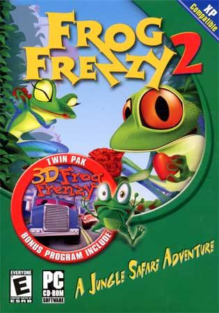 حصريا لعبة التشويق والتسلية 3D Frog Frenzy Frogfrenzy