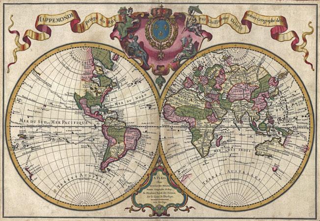 Vintage Nautical Map 64