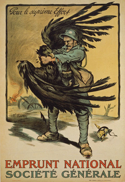 Movie Poster vintage japanese movie posters : WA80 Vintage WWI French War Loan German Imperial Eagle ...